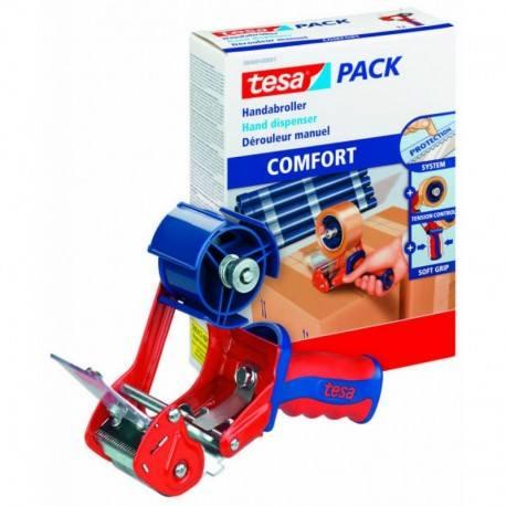 Dyspenser do taśm pakowych TESA COMFORT z automatycznym ostrzem
