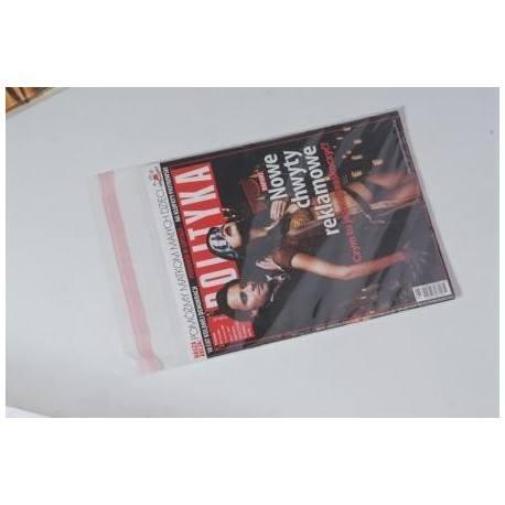 Koperty foliowe przezroczyste 110x220 DL