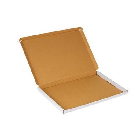 Caja de carton blanco 320x220x20 con estampado