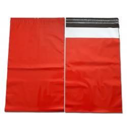 Foliopaki czerwone 24x35cm