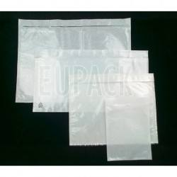 Self-adhesive, self-adhesive courier envelopes
