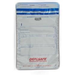 Secure bank deposit envelopes