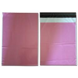 KF5 35x45 Koperty foliowe FOLIOPAKI kurierskie różowe C3