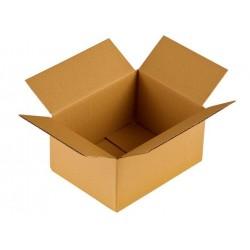 Caja de cartón con solapa blanca 350x250x150 kpl. 20pcs.
